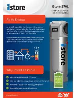 iStore Product Brochure
